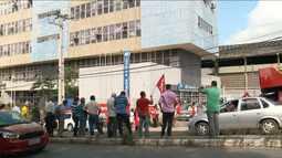 Protesto contra reforma previdenciária é realizado em São Luís