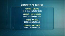 Andar de ônibus vai ficar mais caro no Paraná