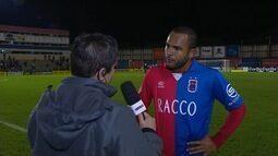 Lúcio Flávio lamenta empate do Paraná em casa
