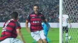 Os gols de Atlético-GO 2 x 1 Vasco pela 8ª rodada da Série B do Brasileiro