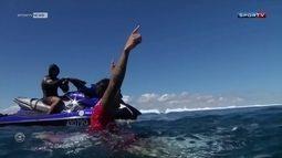 Gabriel Medina vence etapa de Fiji no Mundial de surfe e assume segunda posição