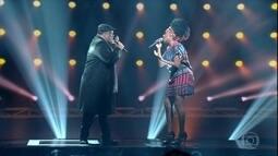 Dois finalistas cantam música de Gonzaguinha