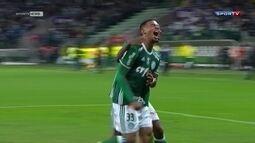 Palmeiras vence o América-MG com dois gols de Gabriel Jesus