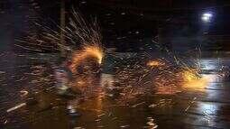 Mais de 40 pessoas se ferem com fogos de artifícios
