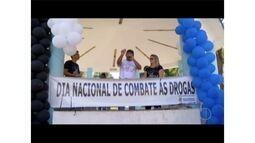 No dia de combate às drogas, ação em Friburgo mostra a importância do coletivo