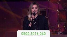 Fernanda Lima anuncia show do Criança Esperança