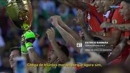 Redação AM: Patrício Berrera narra vitória do Chile nos pênaltis