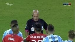 """Arnaldo Cezar Coelho critica Héber Roberto Lopes na final da Copa América: """"Um desastre"""""""