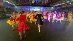 Lume da Fogueira fica em 6º lugar na final do Festival de Quadrilhas da Globo Nordeste
