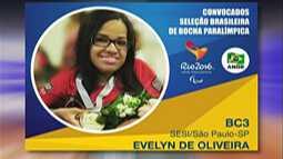 Evelyn Oliveira é convocada para a seleção brasileira de bocha adaptada