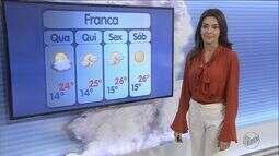 Previsão de tempo quente e seco na quarta-feira (29) na região de Ribeirão Preto
