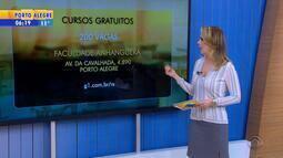 Faculdade de Porto Alegre oferece cursos gratuitos durante as férias