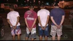 Homem é preso e quatro menores são apreendidos por crime contra PM