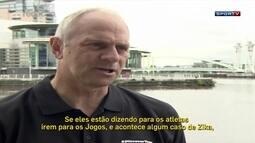 Ex-remador diz que golfistas estão usando Zika como desculpa para não disputar Olimpíada
