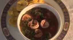 Aprenda a fazer uma receita de ceviche de camarão