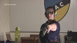 Conheça a única paratleta brasileira do tiro esportivo na Olimpíada