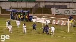 O gol de Caldense 0 x 1 Espírito Santo, pela Série D do Campeonato Brasileiro 2016