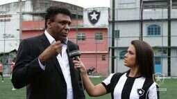 Botafogo TV - Projeto Social do ídolo Maurício