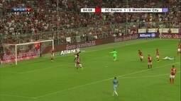Salva Oztuk! Bola passa pelo goleiro e jogador evita o gol do City, aos 39 do 2º tempo
