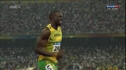 Usain Bolt é a grande atração da Liga Diamante de Atletismo em Londres