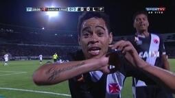 Os gols de Santa Cruz 2 x 3 Vasco pela terceira fase da Copa do Brasil