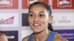 Após ficar afastada da seleção por dopping, Cláudia Lemos conquista prata com equipe