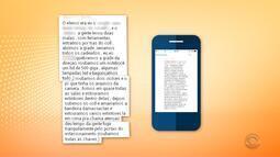 Mensagens trocadas por adolescentes relatam vandalismo em escola do RS