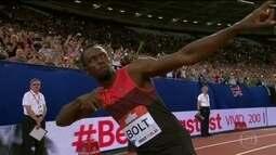 Bolt vence competição em Londres e confirma vinda para a Rio 2016