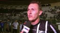 Rafael Grampola diz que não cometeu falta em gol do Bragantino