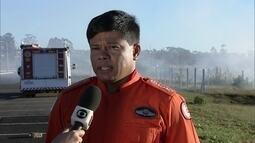 Incêndios no DF preocupam o Corpo de Bombeiros