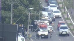 Suspeito é morto durante assalto a micro-ônibus em Manaus