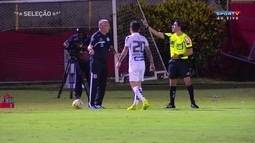 Comentaristas debatem sobre o polêmico segundo gol do Santos sobre o Vitória