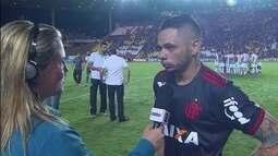 Pará comemora boa atuação na vitória do Flamengo sobre o América-MG