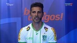 Leandro Guerreiro admite momento complicado, mas diz que luta não vai faltar até o fim