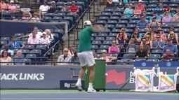 Masters 1000 de Toronto tem início nervoso de tenista croata