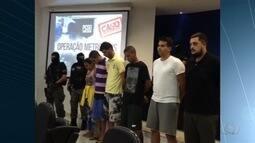 Polícia prende suspeitos de explodir caixas eletrônicos em Goiás