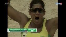 Marco Freitas lembra ouro do Brasil no vôlei de praia feminino em 1996