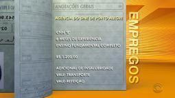 Empregos: Sine de Porto Alegre tem seleção para vagas de instalador de telefone
