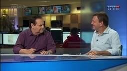 Empolgação da torcida do Atl. Nacional impressiona, diz Mauricio Oliveira