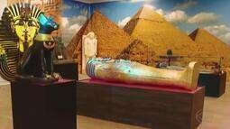 Exposição sobre história do Egito acontece em Uberlândia