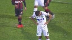 Chapecoense é eliminada em casa pelo Atlético-PR