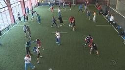 Atletas do Uzbequistão treinam pesado em Florianópolis para a Olimpíada