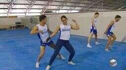 Atletas de ginástica aeróbica da Ufla vão se apresentar na Olimpíada do Rio 2016