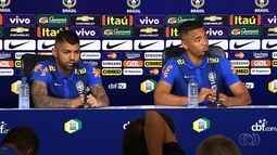 Gabriel Jesus e Gabigol falam sobre seus futuros, provavelmente na Europa