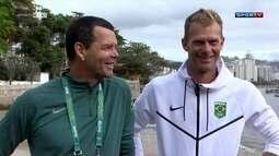 Atletas brasileiros de três modalidades estão hospedados em centro de treinamento na Urca