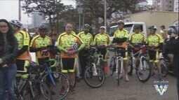 Ciclistas fazem desafio de 230 km para arrecadar cestas básicas