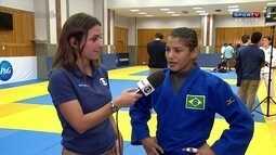 """Sarah Menezes diz que vai precisar de """"visão de águia"""" para buscar o ouro"""