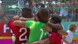 Os gols de Portugal 5 x 3 EUA pelo Mundialito de Futebol de Areia