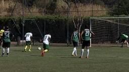 Seleção da Africa do Sul treina em Brasília para jogo contra Brasil