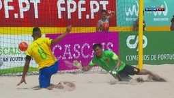 Os gols de Brasil 16 x 0 China pelo Mundialito de Futebol de Areia